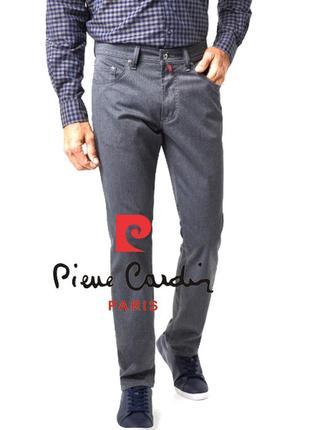 Финальный sale новых вещей! солидные брюки pierre cardin оригинал, классика на все года