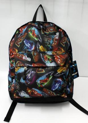 Рюкзак, ранец, молодежный рюкзак, городской рюкзак, детский рюкзак, машинки