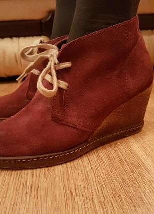 Замшевые ботинки (0146)