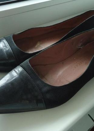 Удобные фирменные туфли балетки mascaro, р. 37- 38 код t3762