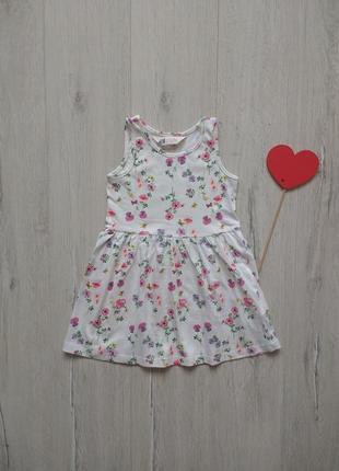 1,5-2 года, платье h&m.