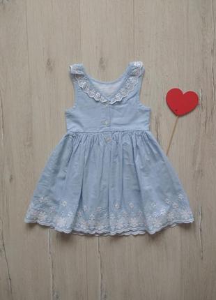 1,5-2 года, платье primark.2 фото