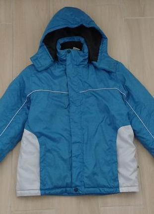 Рост 164 см теплая стильная , зимняя куртка !