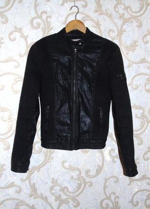 Кожанная куртка, косуха bludeise, s, m, 36, 38, 44, 46