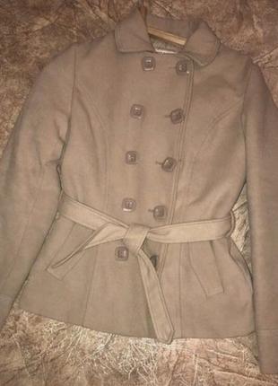 Куртка пальто teranova кашемировая куртка