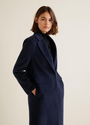 Шикарное шерстяное пальто mango