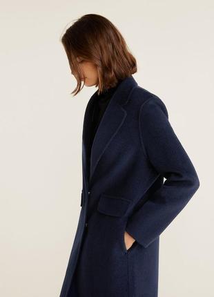 Шикарное шерстяное пальто mango2