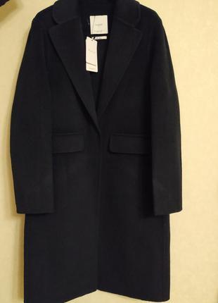 Шикарное шерстяное пальто mango4