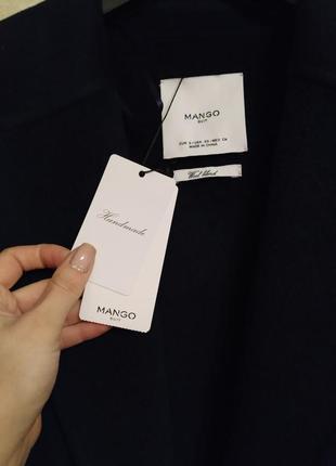 Шикарное шерстяное пальто mango5