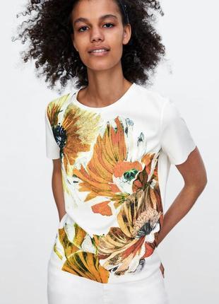 Женская футболка zara1