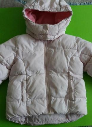 Куртка на девочку hm 2 года