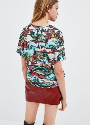 Женская футболка zara