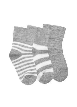 Комплект носков дюна для новорожденных из 3 пар 11-14 размер 8-10 см 0-6 месяцев