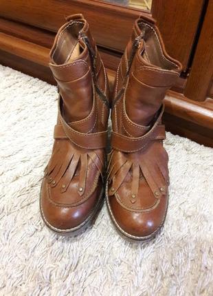 Кожаные ботинки next.