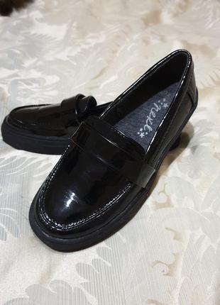 Брендовые туфли слипоны 12 р next