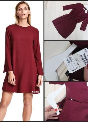 H&m.базовое платье.100; вискоза.