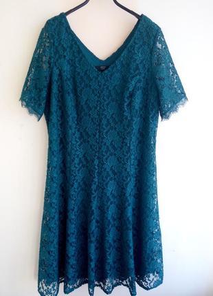 Платье гипюровое joann hope p.4xl/20