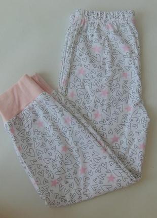 Пижама низ штаны primark англия 5-6 лет 116 см