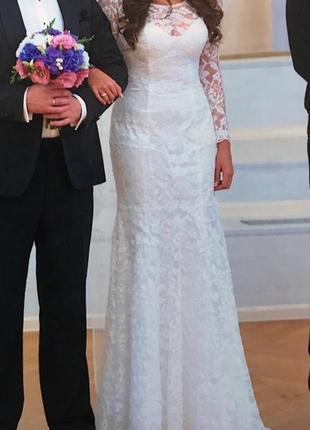 Шикарное свадебное платье  maggie sottero, s-m
