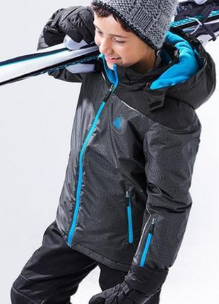 Лыжная термо куртка с мембраной 3000 от тсм чибо германия р. 146-152