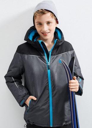 Лыжная термо куртка с мембраной 3000 от тсм чибо германия р. 146-1522 фото