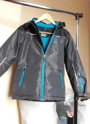 Лыжная термо куртка с мембраной 3000 от тсм чибо германия р. 146-1525 фото