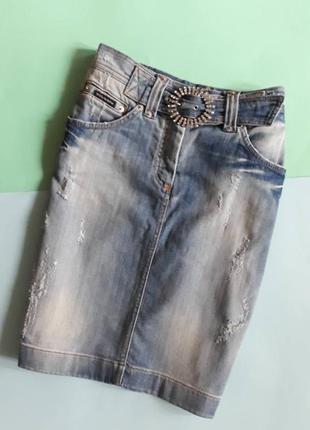 Юбка джинсовая dolce & gabbana m-l