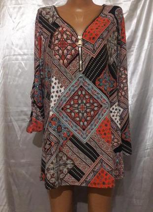 Итальянская туника-платье. можно как оверсайз