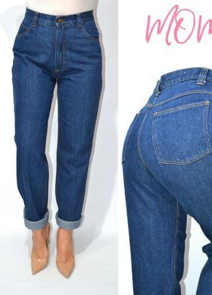 Джинсы момы бойфренды винтаж высокая посадка mom мом jeans c&a  .
