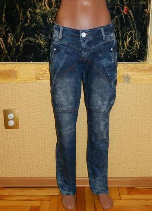 Стильные женские джинсы синие р. 42-44.