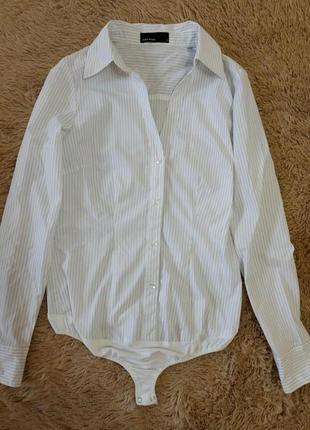 Элегантная рубашка - боди от vero moda