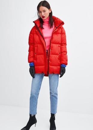 Стёганная куртка от zara