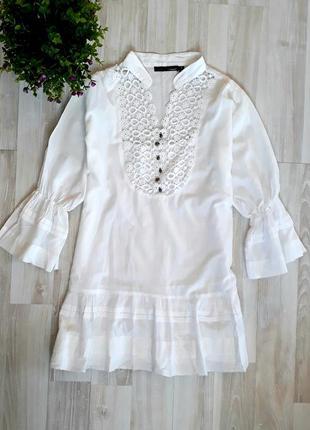 Яркая, необычная блузка