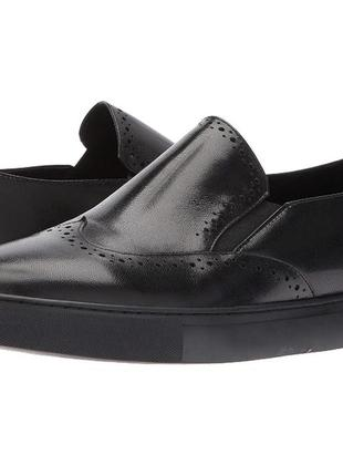 Кожаные туфли макасины zanzara 45р 29,5 см. оригинал . usa