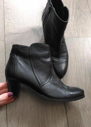 Кожанные ботинки van-dal 38.5p