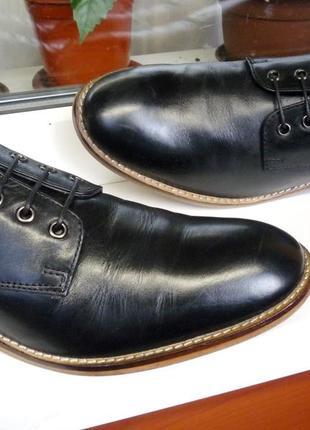 """Красивые прочные кожаные туфли """"cedar wood state"""", ирландия! 42 р."""