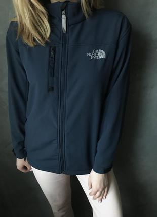Кофта на флисе the north face оригинал soft shell рефлективная