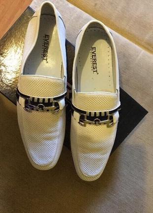 Туфли белые весна - лето