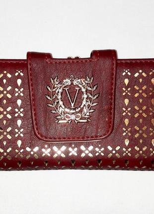 Коричневый кошелёк клатч