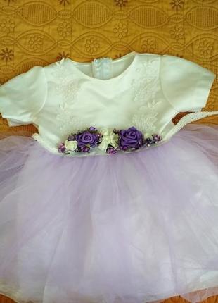 Платье 2 года 92см праздничное