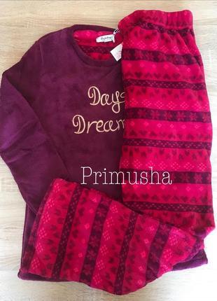 Primark пижама велсофт