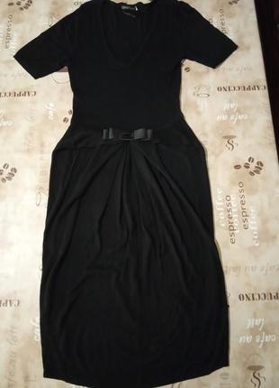 Oggi чёрное красивое платье2 фото
