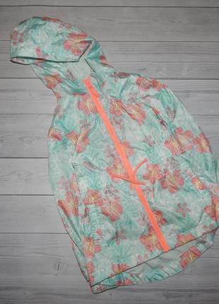 Ветровка на весну на катоновой покладке на девочку куртки ветровки  плащи