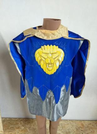 Карнавальный костюм рыцарь лего универсальный размер лев