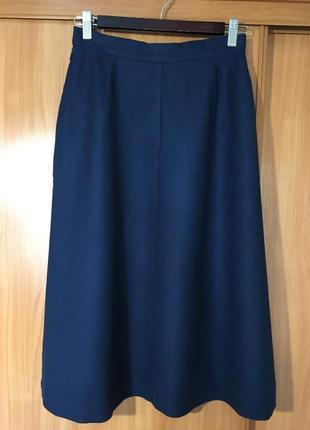 Роскошная шерстяная юбка трапеция jaeger,британия!!