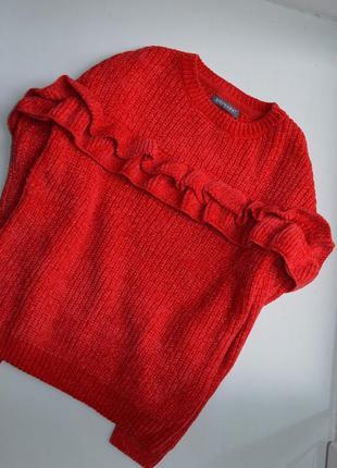 Стильный велюровый свитер primark 9/10 лет