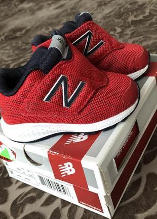 Крутые кроссовки new balance размер 20