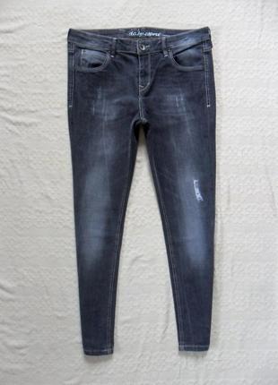 Стильные джинсы скинни esprit, l размер.