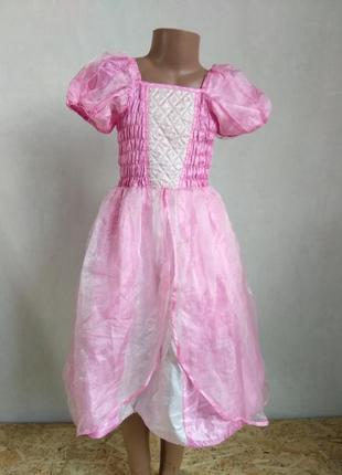Карнавальное платье принцесса 5-7 лет (замеры)