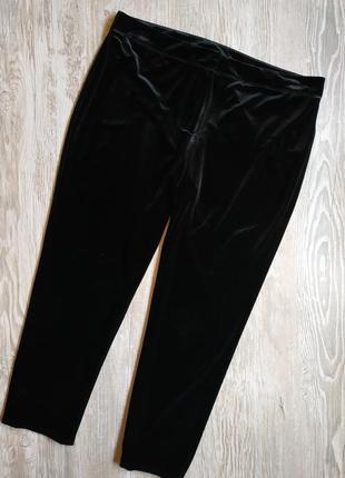 Трендовые зауженные велюровые брюки atmosphere размер 18